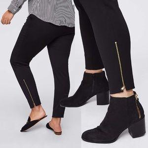 4f2ac5910a14b LOFT Pants | Nwt Plus Leggings In Ankle Zip Bistretch | Poshmark